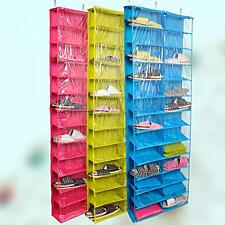 Hanging Shoe Rack Over door 36 Pair Closet Space Saver Tidy Organizer Rack Pick