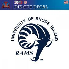 Rhode Island University of Rams  Die-Cut Vinyl Decal