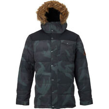 Burton Traverse Mens Jacket Synthetic Fill - Derby Camo True Black All Sizes