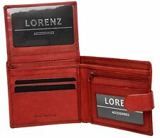MENS LUXURY SOFT QUALITY LEATHER COW CALF WALLET,CREDIT CARD HOLDER, PURSE BLACK