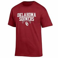 University of Oklahoma Football NCAA College T shirt made by Champion, Cardinal