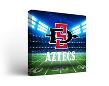 San Diego State University Sdsu Aztecs Canvas Wall Art Stadium Design