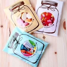 100x Self Adhesive Self Seal Resealable Plastic Bag New Bottle Design 4 Color