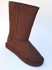 KALI  COOKIE NEW WOMENS FASHION BROWN SUEDE BOOTS  CASUAL WINTER BOOTS