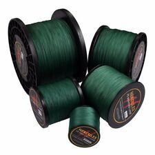 Hercules 100M-2000M Spectra Green Fishing Line PE Dyneema Strong 6lb-300lb Braid