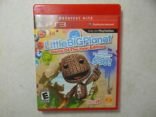 LittleBigPlanet (Sony Playstation 3, 2008) Little Big Planet FREE SHIPPING