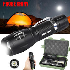 Super Bright 6000LM XM-L T6 LED Adjustable Focus Flashlight Zoom Tactical Torch