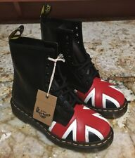 NEW Womens Sz 6 Mens Sz 5 DR MARTENS 1460 Union Jack Leather 8 Eye Ankle Boots