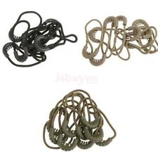 10pcs EDC Zipper Pulls Cord Rope Ends Lock Zip Fastener Replacement for Clothing