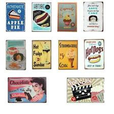 30x20cm Tin Sign Wall Decor Metal Bar Plaque Pub Poster Home Tavern Shop Dessert