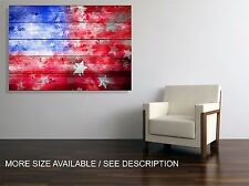Canvas Print  Picture USA Flag / Stretched ready to hang