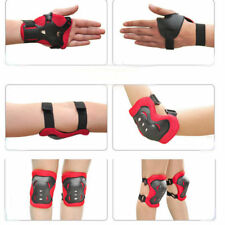 Set of 6 Kids Sport and Skating Protective Pads Wrist Elbow and Knee Protectors