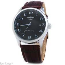 Winner W062 Men Automatic Mechanical Watch  Leather Band Date