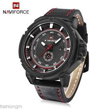 NAVICE NF9083M Male Quartz Watch Japan Movt Decorative Sub-dial Wristwatch