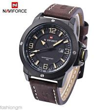 NAVICE NF9077M Male Quartz Watch Japan Movt Water  Wristwatch