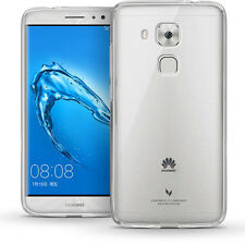 Glossy TPU Gel Case for Huawei G9 Protective Gel Skin Cover + Screen Protector