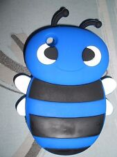 BLUE BUMBLE BEE SILICONE CASE FOR BLACKBERRY CURVE 8520