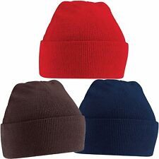 STORM WARMER BEANIE HAT 6 ASSORTED COLOURS -  UNISEX - ONE SIZE FITS ALL