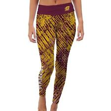 Central Michigan University Chippewas Womens Yoga Pants Prism  Design