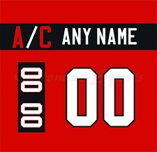 IIHF Hockey 2015 Team Canada Red Jersey Customized Number Kits un-sewn