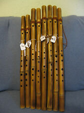 Native American Style 6-Hole Bamboo Flute/Various Keys (item# F002)