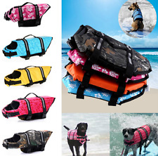 New Dog Water Life Vest Saver Reflective Jacket Preserver Aquatic Safe Swimming
