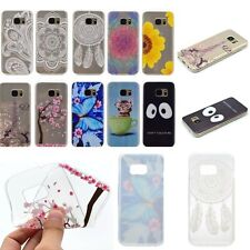 THIN FASHION Soft Rubber Back TPU RUGGED Case Cover For Samsung Galaxy Phones