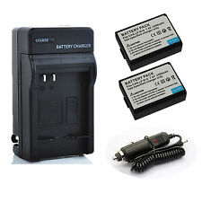 LP-E10 Battery / Charger For Canon LPE10 EOS Rebel T3 T5 1100D 1200D Kiss X50