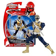 POWER RANGERS SUPER MEGAFORCE: SAMURAI GOLD RANGER ACTION HERO MOC