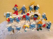 SMURFS THE MOVIE 2011 MCDONALDS HAPPY MEAL TOYS FIGURES