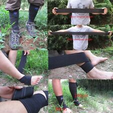 Elastic Ankle Calf Support Brace Protector Foot Guard Wrap Strap 80/140/200cm