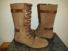 $175 NEW Womens The North Face Bridgeton Lace Boot Waterproof Brown 7