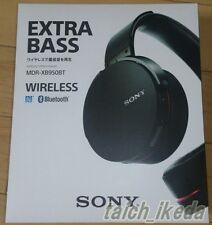SONY MDR-XB950BT/B H Extra Bass Bluetooth Stereo Headset Black Gray From Japan
