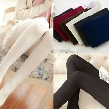 Winter Pantyhose Tights Womens Thick Knit Fashion Footed Warm Cotton Stockings