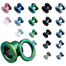 Titan Flesh Tunnel 0 1/16in - 1in 5 Ear Plug - PIERCINGS from ALLFORYOU