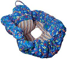 Floppy Seat Ez Carry Shopping Cart and High Chair Cover, Blue ABC