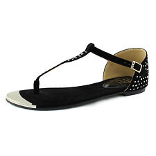 Women T Thong Casual Ballet Flats Slip On Summer Beach Walk Casual Sandals Shoes