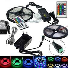 5M 10M 15M SMD 3528 5050 5630 300LED RGB White LED Strip Light DC 12V Waterproof