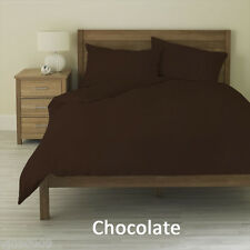 AU King Bedding 1000TC Egyptian Cotton Sheet Set/DonnaCover/Fitted Brown Solid
