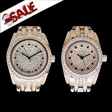 Gallucci Women's Ladies' Crystals Christmas Sale Gifts Japan Quartz Pair Watch