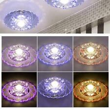Modern Flower Crystal Ceiling Light Pendant Lamp Lighting Chandelier 5 Styles