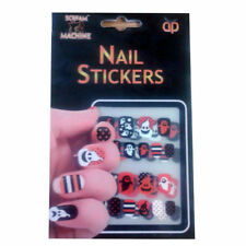 Halloween Fancy Dress Nail Art Easy Stick On Ghost Black Party Gift Girls Ladies