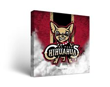 El Paso Chihuahuas MiLB Canvas Wall Art Vintage Design