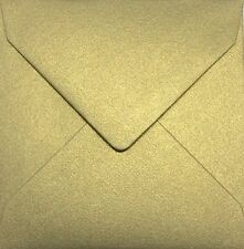25 x Small Square Envelopes (100mm x 100mm - Various Colours Available)