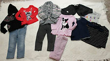 77 Kids AMERICAN EAGLE Girls 3 Years 3T 11 Piece Lot Shirt Sweater Jeans Pants +