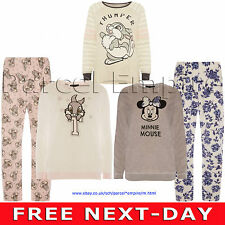 Official BAMBI Minnie Mouse Thumper Warm Cosy PYJAMA Top PJ Disney Mickey