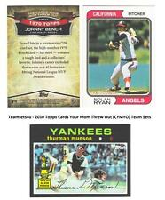 2010 Topps Cards Your Mom Threw Out (CYMTO) Team Sets ** Pick Your Team Set **