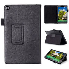 Luxury Leather Stand Flip Cover For Amazon Kindle New Fire HD 8 2016 6th Gen