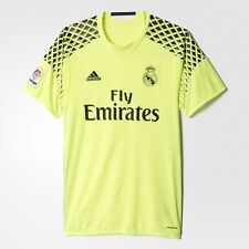 BNWT Adidas 2016/17 REAL MADRID Away GK S/S Soccer Jersey Football Shirt B41453