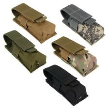 Tactical MOLLE Magazine Pouch Military Bag Utility Flashlight Holster Phone Case